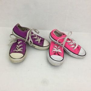 Converse Chuck Girls Toddler Shoes Size 13 All Sta